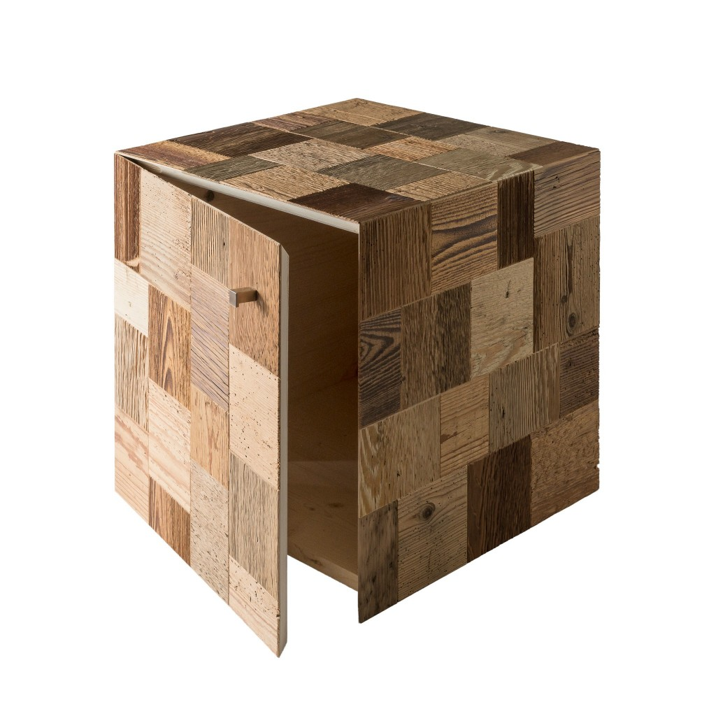 <p>Cube furniture meets contemporary design standards and performs a dual function: decoration and furniture. The material used is formed by the masterful assembly of many pieces of antique, recycled wood at the hands of our skilled carpenters. The geometric play continues in the object's texture, consisting of dozens of squares skilfully joined together, which maintain […]</p>